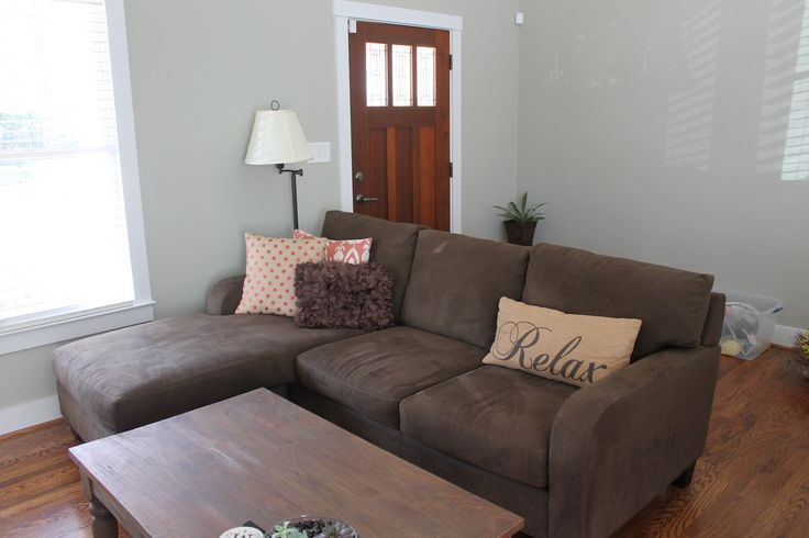 Small L-shaped couch