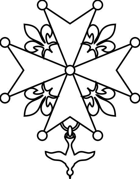 Croix huguenote - Refuge (protestantisme) — Wikipédia