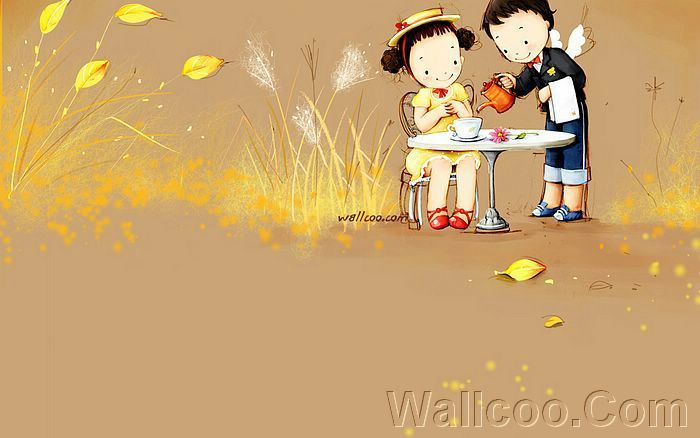 Kim Jong Bok Illustrations(Vol.04) : Sweet Puppy Love   - Puppy Love - Sweet Lovers and Cartoon Couples pictures 16