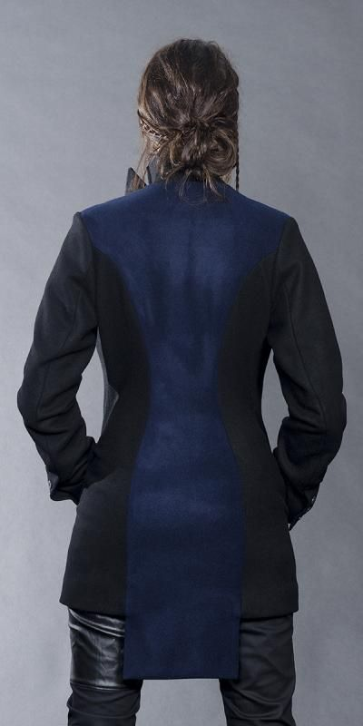 Jane Sutherland  Winter 2016 - NIrvana short jacket