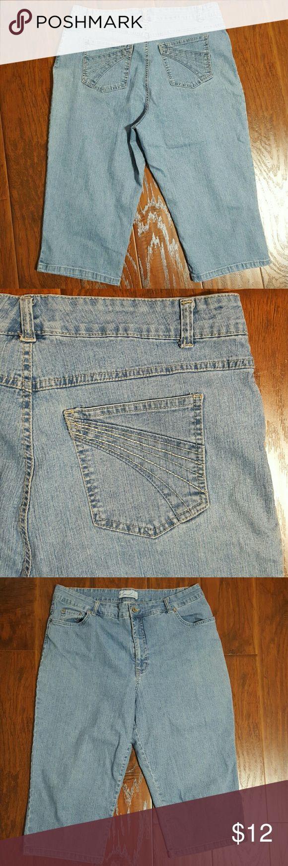 Kim Rogers size 16 capri jeans Kim Rogers size 16 capri jeans Kim Rogers Pants Capris