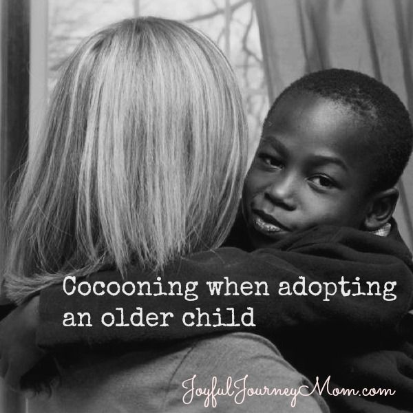 In adoption and attachment parenting, the term cocooning is used for the initial weeks or even months where parents keep outside distractions low and focus on activities that help with bonding with a newly adopted child. When it comes to international adoption specifically, there is a huge change in language, food, sights and sounds. Even... Read More »