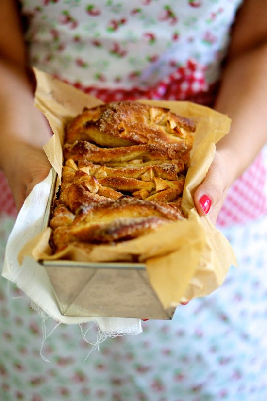 <3Brød med æbler l Pull apart bread with apples & cardammon- or anything you like l Denmark