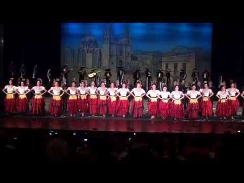 ▶ Guadalajara, Culebra, Tranchete, Negra y Jarabe... Ballet Amalia Hernandez - YouTube