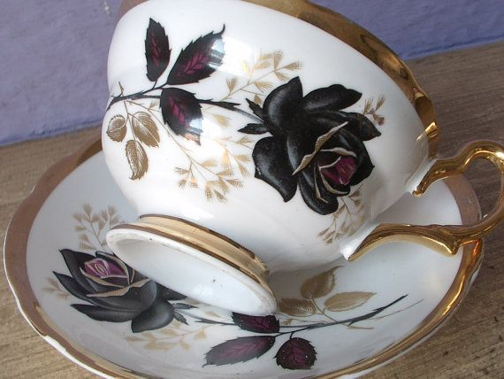 Hey, I found this really awesome Etsy listing at https://www.etsy.com/listing/167054051/antique-1950s-grosvenor-black-rose-tea