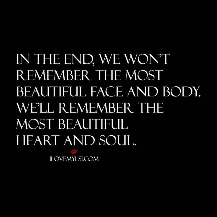The Most Beautiful Heart and Soul | Relationships