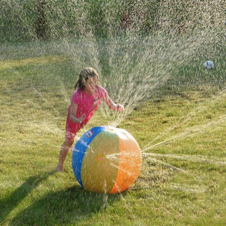 Kinder Schwimmen Pool Ball Spielen Außen Ball Aufblasbares Spielzeug Brunnen Ball