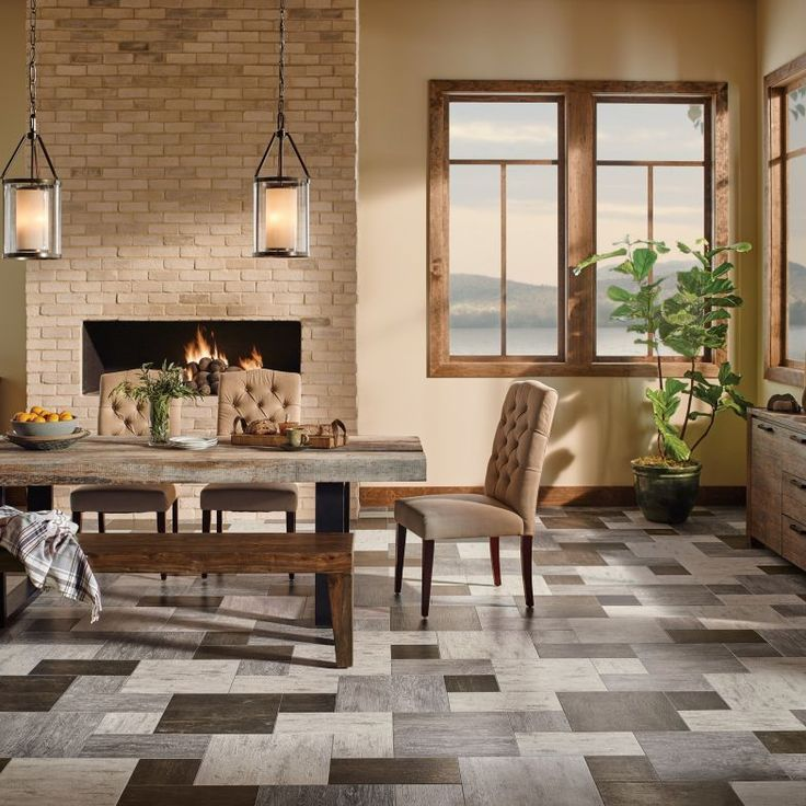 Kitchen Living Room Combo Flooring: 12 Best Residential Spaces