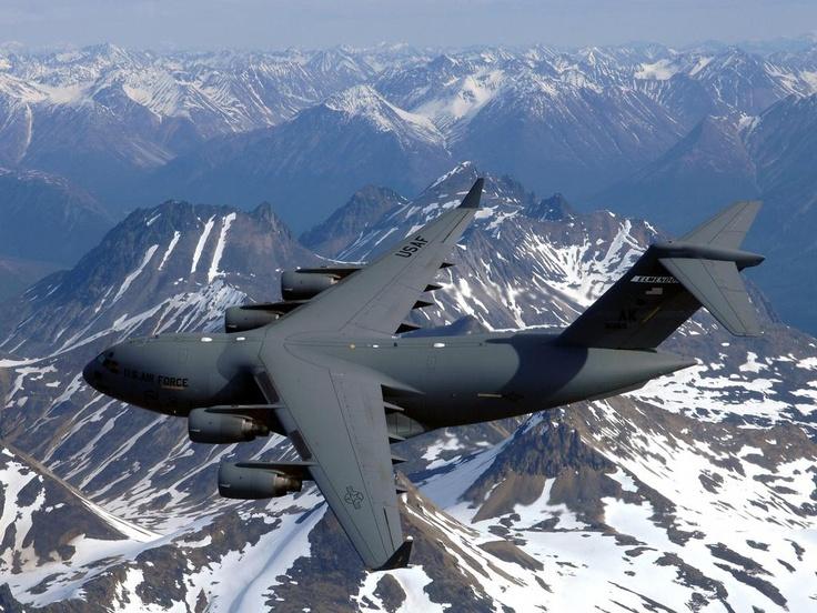 C-17A over Alaska
