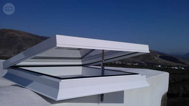 M s de 25 ideas incre bles sobre techo policarbonato en - Milanuncios chimeneas de hierro ...