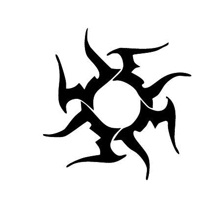 4-soles-tribales-tatuajes-muchos-soles-sun-diseno.jpg (452×425)