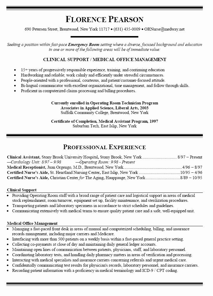 25 Nursing Student Resume Examples in 2020 Nursing