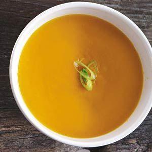 Recept - Spicy wortelsoep - Allerhande    Dit is dus het recept van de wortelsoep die ik zo vaak maak