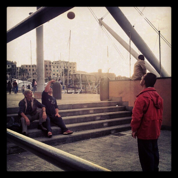 Sun/ball  #Genova #Genoa #Travel