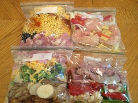 365(ish) Days of Pinterest: Day 68: Crockpot Freezer Meals