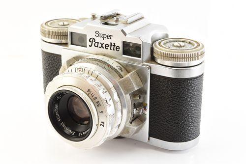 Braun Super Paxette Rangefinder Camera with Steinheil Cassarit 45mm f2.8 Lens