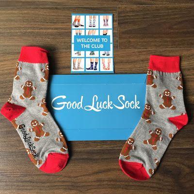 Good Luck Sock Review - November 2017 - Canadian Sock Subscription + PROMO CODE