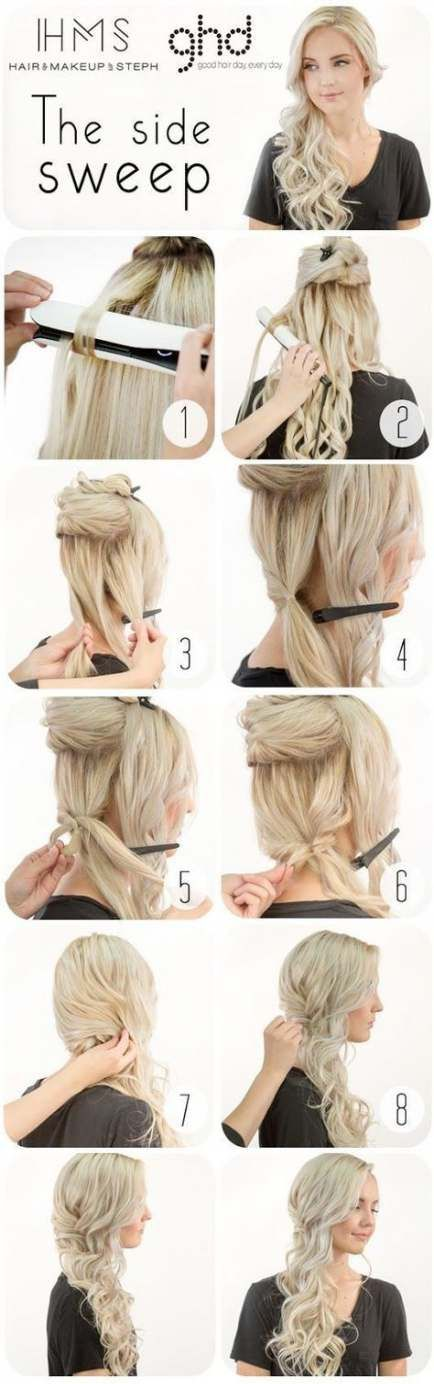 23+ Ideas Bridal Hairstyles For Long Hair With Fringe Curls