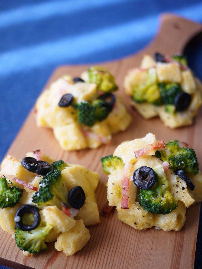 パクパク手軽に食べられるので、朝食にもぴったり。もちろん夜食やお酒のおつまみにも。 『ELLE gourmet(エル・グルメ)』はおしゃれで簡単なレシピが満載!