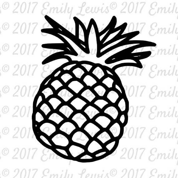 Pineapple SVG  Pineapple SVGs  pineapple  pineappl…