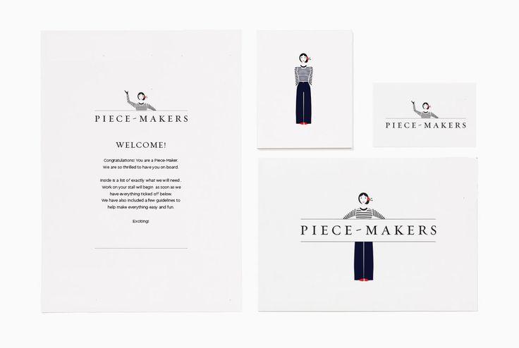 Piece-Makers Branding.