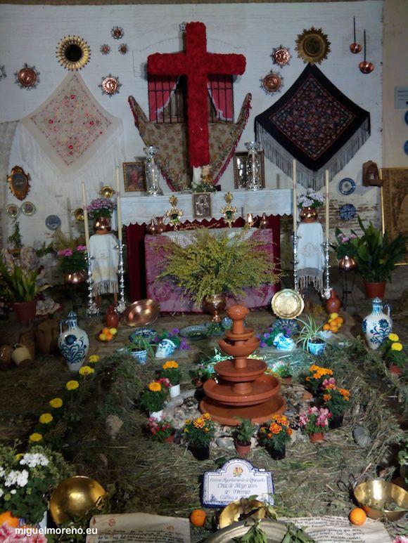 Segundo premio de las Cruces de Mayo de Granada 2014