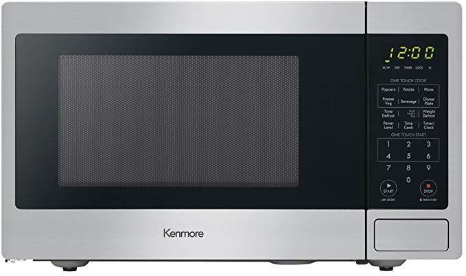 Kenmore Stainless Steel 70913 Countertop Microwave 0 9 Cu Ft Countertop Microwave Kenmore Countertops