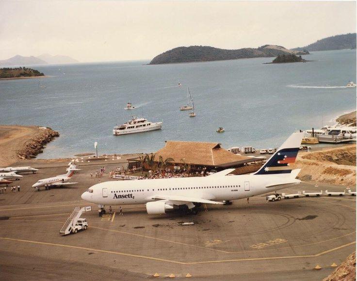 Ansett Boeing 767-200 (VH-RMH) at Hamilton Island