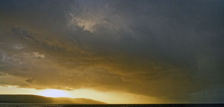 Storm from the Atlantic in Galway Bay and Black Head County Clare. visit my web site www.lhandal.com