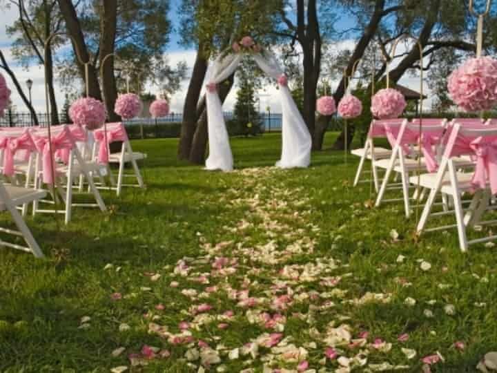 7 ides pour dcorer votre crmonie laque de mariage - Crmonie Laique Mariage