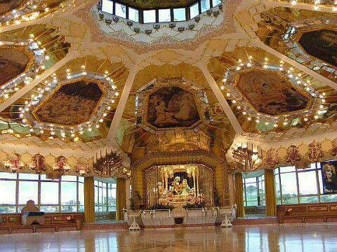 ISKCON Lord Krishna Temple in Durban, South Africa.