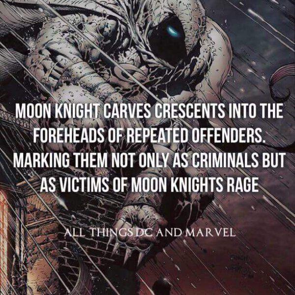 Moon Knight Fact