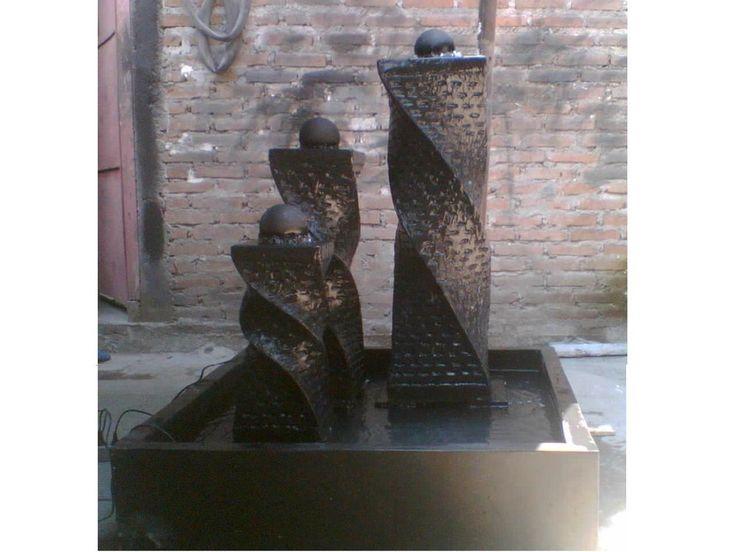 Brunnen Kaskadenbrunnen Wasserspiel Gartenbrunnen