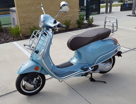 My Vespa 150 cc, now for sale due to my bad eyesight.  Only 26 miles on her!