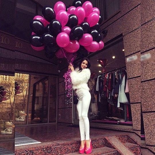 ᴘɪɴᴛᴇʀᴇsᴛ: @ʜᴏʟʟʏᴇɢʀᴀʏ ↞ | General Helium Balloons | 21st ...