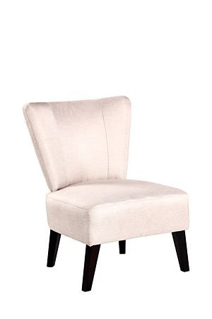 """This polyester upholstered chair has an angled silhouette and crisp lines that lends itself to all occasions.<div class=""""pdpDescContent""""><ul><li> Polyester </li><li> Assembly required</li></ul></div><div class=""""pdpDescContent""""><BR /><b class=""""pdpDesc"""">Dimensions:</b><BR />L65xW63xH80 cm<BR /><BR /><div><span class=""""pdpDescCollapsible expand"""" title=""""Expand Cleaning and Care"""">Cleaning and Care</span><div class=""""pdpDescContent"""" style=""""display:none"""