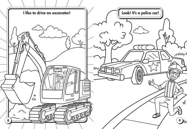 10 Best Free Printable Blippi Coloring Pages For Kids Coloring Pages For Boys Coloring Books Coloring Pages For Kids