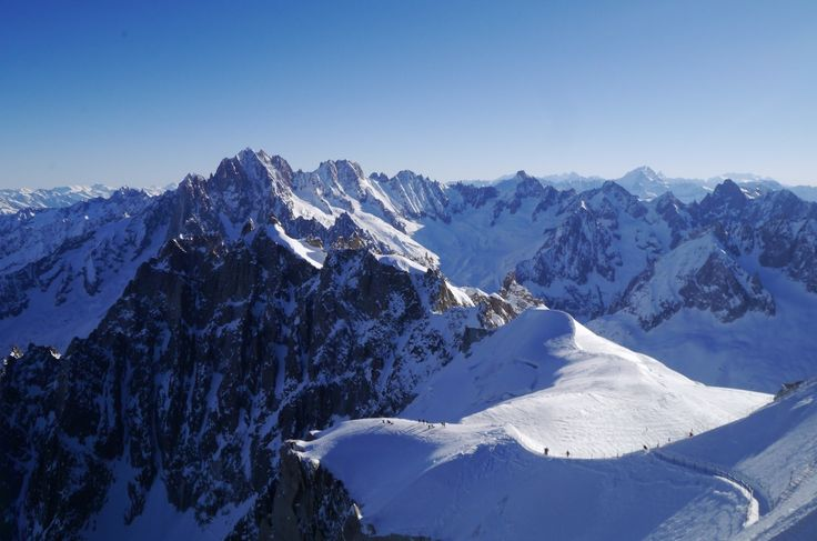 """vallée blanche"" by TravelPod blogger marco-2010 from the entry ""Vallée blanche et le Mont Blanc!"" on Saturday, March 19, 2016 in Chamonix, France"