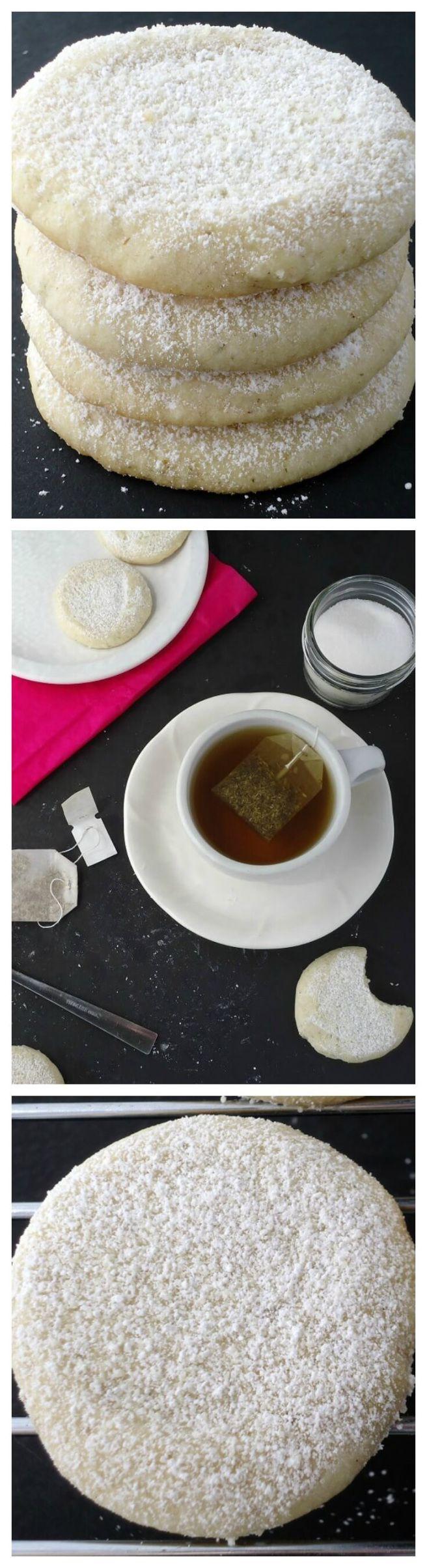 Tea infused cookies recipe