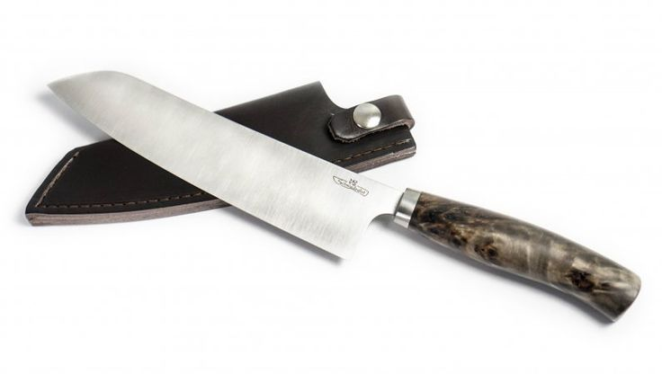 Küchenmesser - Santoku mit Spezialschliff
