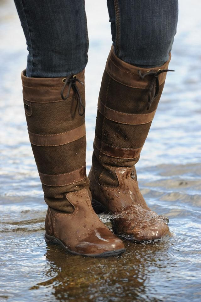 Dublin River Boots | Regan, your boots are awesome, but Kelly is wearing these so she can splash in the puddles!