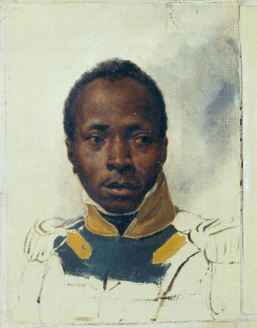 !mile-Jean-Horace Vernet, Portrait of a Black Officer, 1830s. Oil on canvas, 23.5 cm by 17 cm.Private collection, ParisIs This Black Soldier the Inspiration for The Count of Monte Cristo?