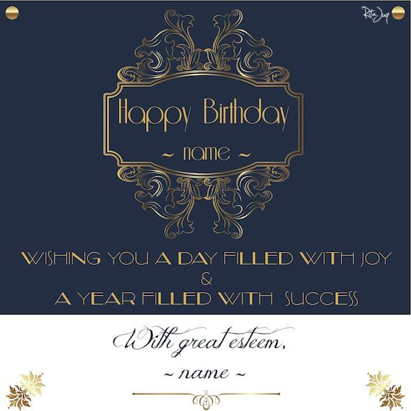 Birthday E-mail Card for an Estimeed Family Friend (free online vectors-sources: Freepik, Vectors Daily, etc)