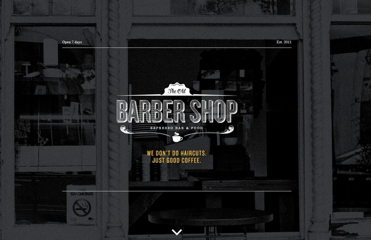 The Old Barber Shop coffee house