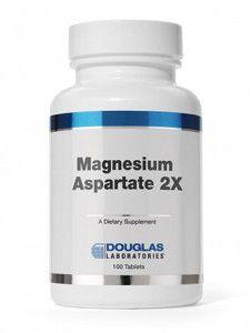 Douglas Labs- Magnesium Aspartate 2X 100 tabs