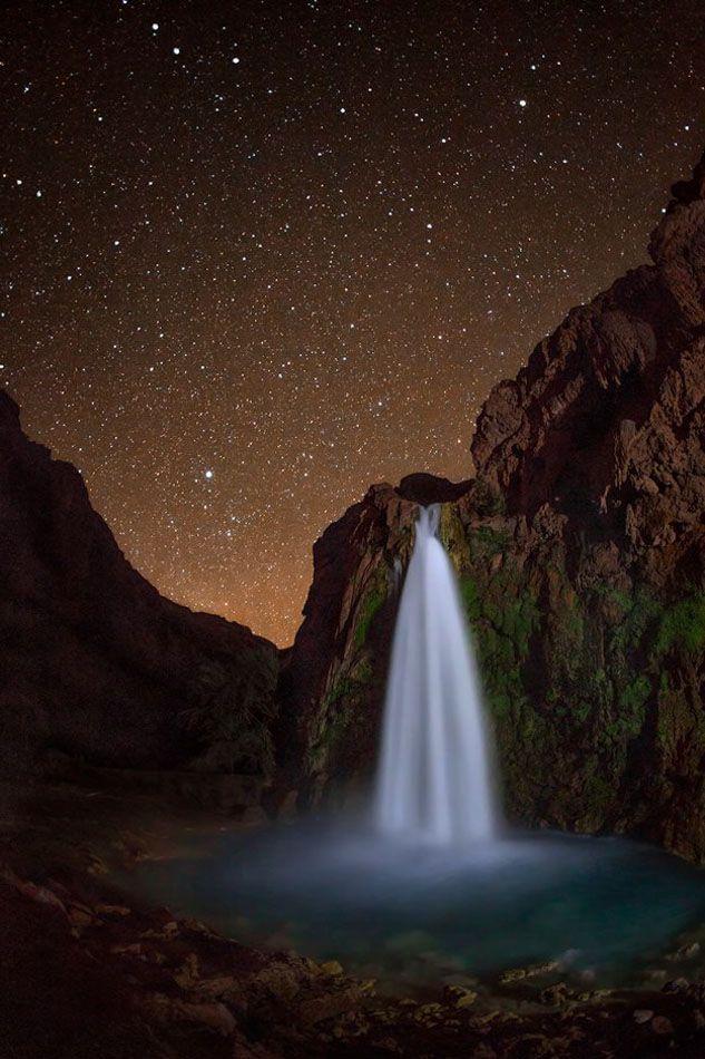Another reason to visit Arizona's Havasu Canyon: the trillions of stars that light the night sky. Photo by David Hatfield