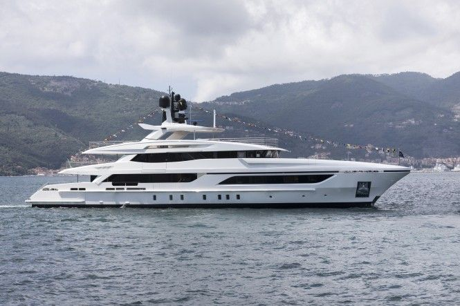 48m luxury yacht Andiamo launched by Baglietto