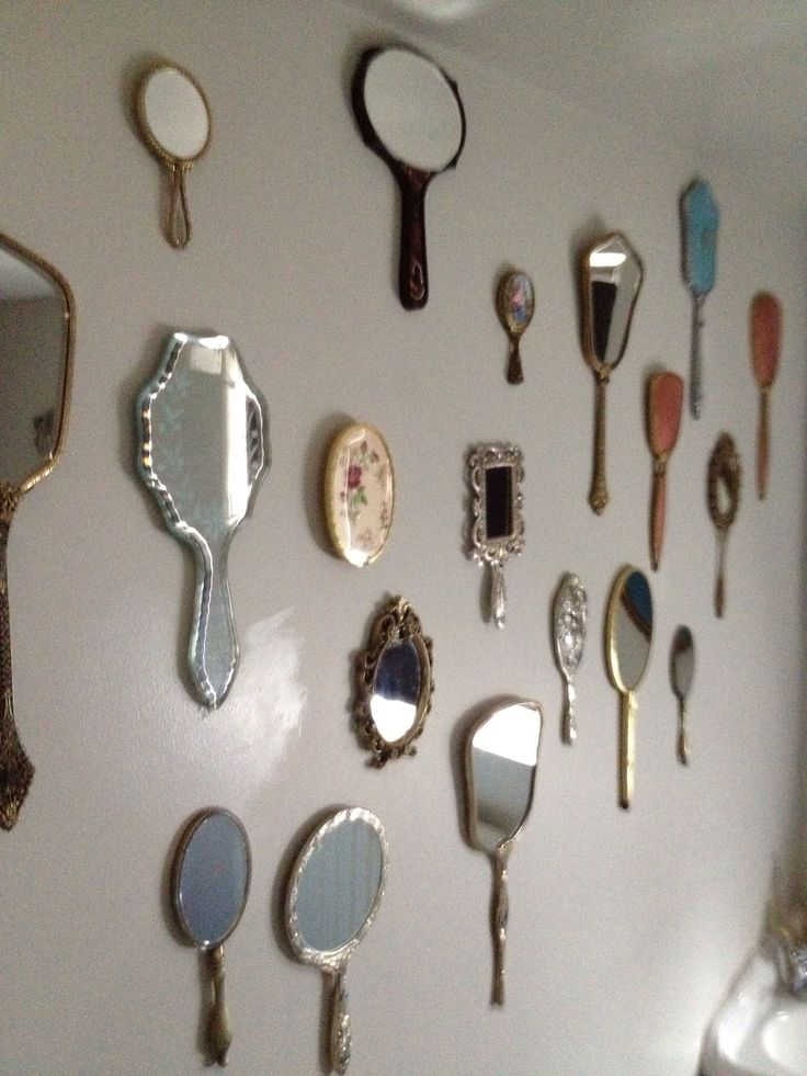 Hand Mirror Wall From Alice In Wonderland House