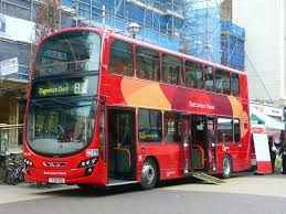 London has quite a bit available in the means of transportation. They have Docklands Light Railway, Thames Transit, Heathrow Airport, National Rail train at King's Cross station, Double Decker Bus and The London Underground train
