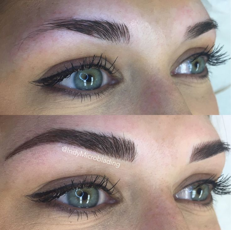 Indy Microblading Eyebrows On Fleek Microblading